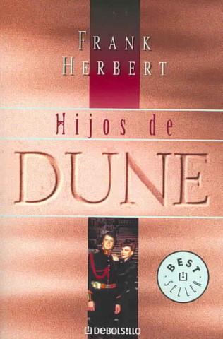 Carte HIJOS DE DUNE Frank Herbert