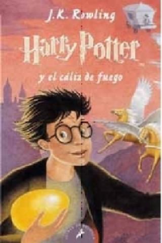 Harry Potter y el cáliz de fuego. Harry Potter und der Feuerkelch, spanische Ausgabe