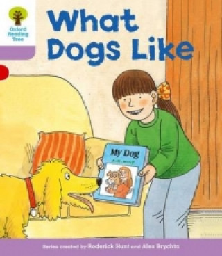 Oxford Reading Tree: Level 1+: More First Sentences A: What Dogs Like