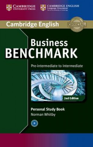 Carte Business Benchmark Pre-intermediate to Intermediate BULATS and Business Preliminary Personal Study Book Norman Whitby