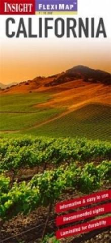 Insight Guides Flexi Map California