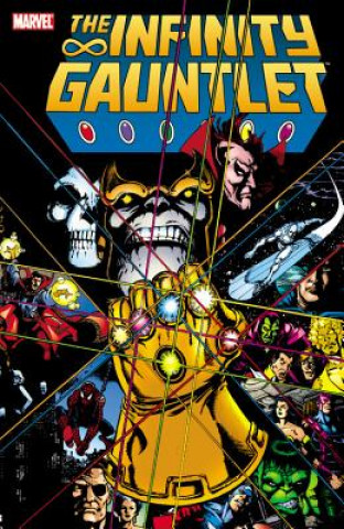 Carte Infinity Gauntlet Jim Starlin