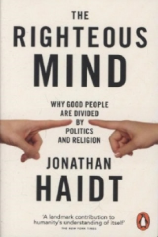 Carte Righteous Mind Jonathan Haidt