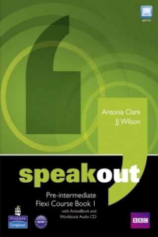 Speakout Pre-Intermediate Flexi Course Book 1 Pack