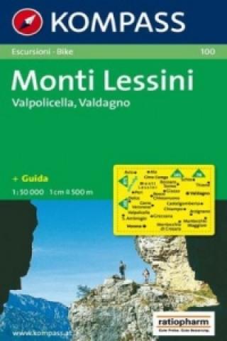 Materiale tipărite Monti Lessini 100 / 1:50T NKOM