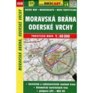 Moravská Brána, Oderské vrchy 1:40 000