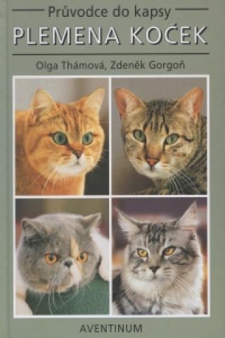 Carte Plemena koček    Druhé vydání Zdeněk Gorgoň