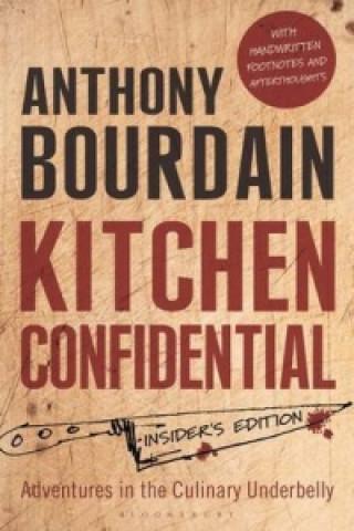 Carte Kitchen Confidential Anthony Bourdain