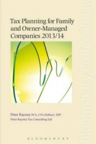 Tax Planning for Family and Owner-Managed Companies