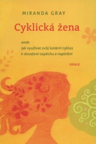 Cyklická žena - žlutá