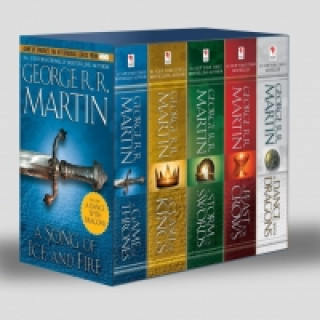 A Song of Ice and Fire, 5 Vols.