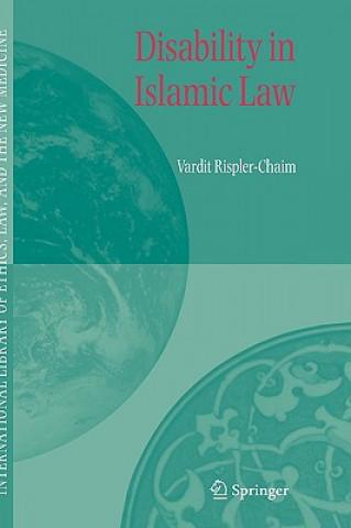 Carte Disability in Islamic Law Vardit Rispler-Chaim