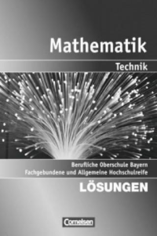 13. Jahrgangsstufe - Fachgebundene und Allgemeine Hochschulreife, Lösungen zum Schülerbuch