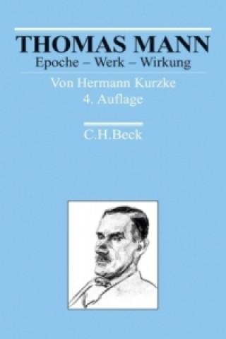 Carte Thomas Mann Hermann Kurzke