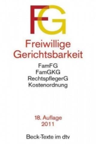 Freiwillige Gerichtsbarkeit (FGG)