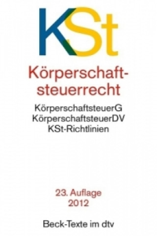 Körperschaftsteuerrecht (KSt)