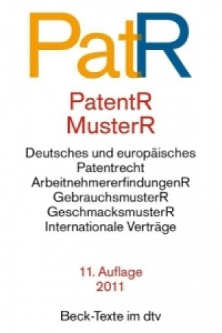 Patent- und Musterrecht (PatR/PatentR, MusterR)