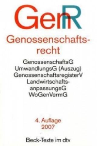 Genossenschaftsrecht (GenR)