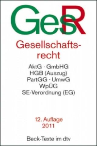 Gesellschaftsrecht (GesR)