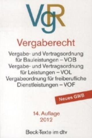 Vergaberecht (VgR)