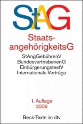 StaatsangehörigkeitsG (StAG)