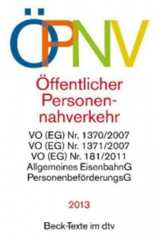 ÖPNV, Öffentlicher Personennahverkehr