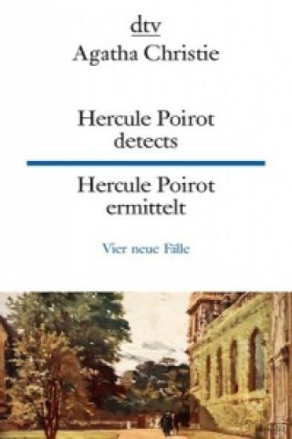Hercule Poirot detects. Hercule Poirot ermittelt