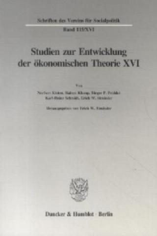 Die Umsetzung wirtschaftspolitischer Grundkonzeptionen in die kontinentaleuropäische Praxis des 19. und 20. Jahrhunderts, I. Teil.
