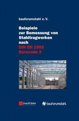 Carte Beispiele zur Bemessung von Stahltragwerken nach DIN EN 1993 Eurocode 3 bauforumstahl e.V.