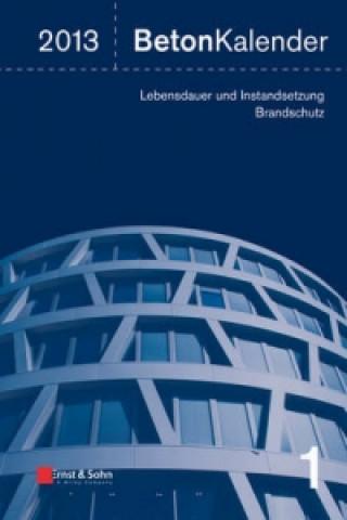Beton-Kalender 2013 - Lebensdauer Und Instandsetzung-Behalter