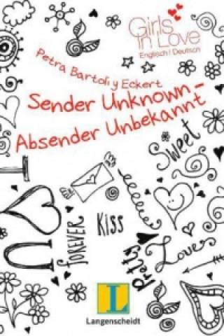 Carte Sender Unknown - Absender unbekannt Petra Bartoli