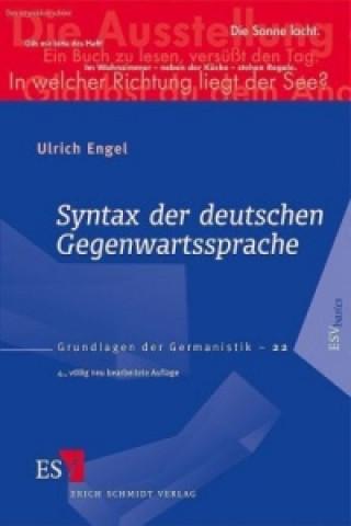 Syntax der deutschen Gegenwartssprache