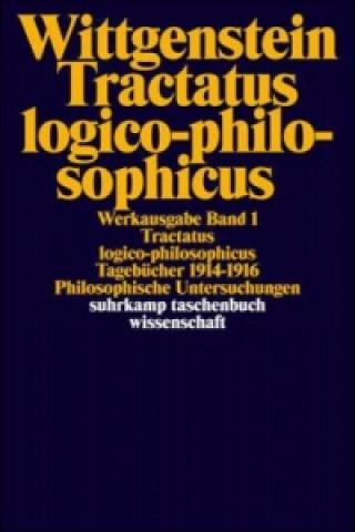 Carte Werkausgabe in 8 Bänden.. Bd.1 Ludwig Wittgenstein