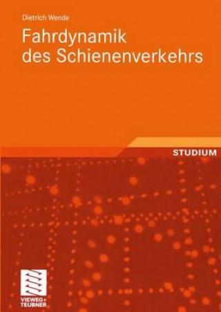 Carte Fahrdynamik Des Schienenverkehrs Dietrich Wende