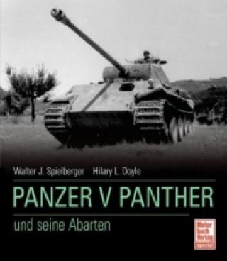 Carte Panzer V Panther und seine Abarten Walter J. Spielberger