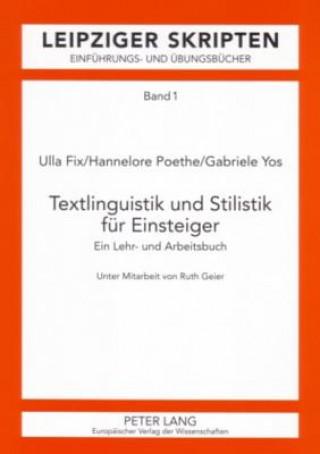 Textlinguistik und Stilistik für Einsteiger