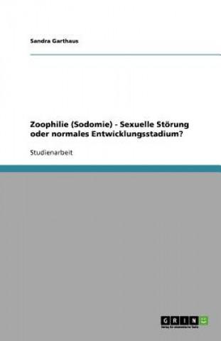 Zoophilie (Sodomie) - Sexuelle St rung Oder Normales Entwicklungsstadium?