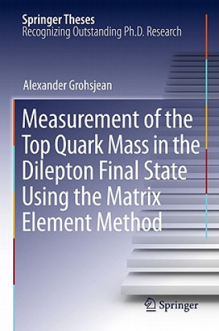 Measurement of the Top Quark Mass in the Dilepton Final State Using the Matrix Element Method