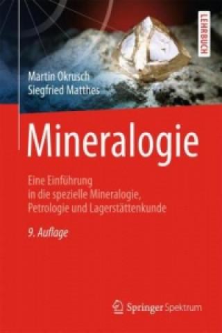 Carte Mineralogie Martin Okrusch