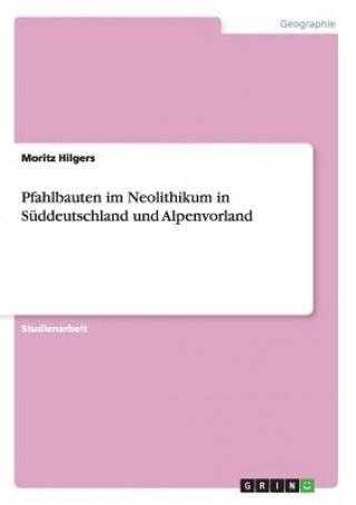 Carte Pfahlbauten im Neolithikum in Suddeutschland und Alpenvorland Moritz Hilgers