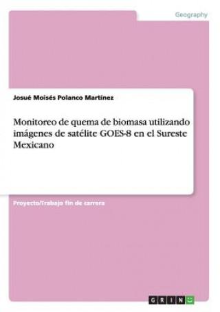 Carte Monitoreo de quema de biomasa utilizando imagenes de satelite GOES-8 en el Sureste Mexicano Josué Moisés Polanco Martínez