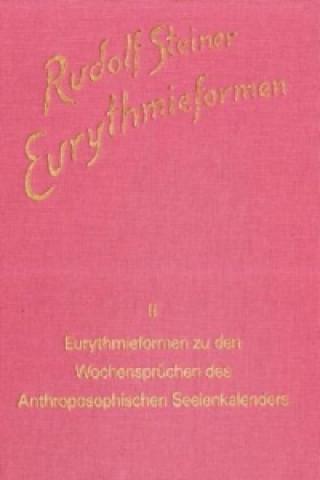 Carte Eurythmieformen zu den Wochensprüchen des Anthroposophischen Seelenkalenders Rudolf Steiner