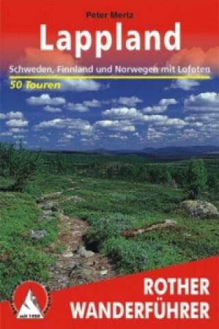 Carte Rother Wanderführer Lappland Peter Mertz
