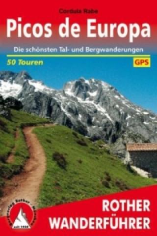Kniha Rother Wanderführer Picos de Europa Cordula Rabe