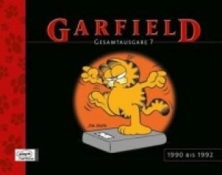 Könyv Garfield, Gesamtausgabe. Bd.7 Jim Davis