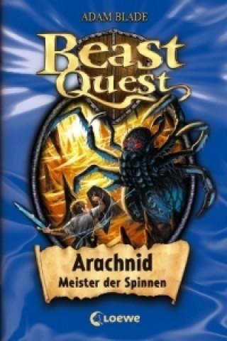 Beast Quest - Arachnid, Meister der Spinnen