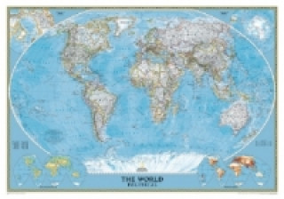 National Geographic Map Classic World Map, Großformat, Planokarte