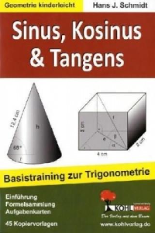 Carte Sinus, Kosinus & Tangens Hans J. Schmidt