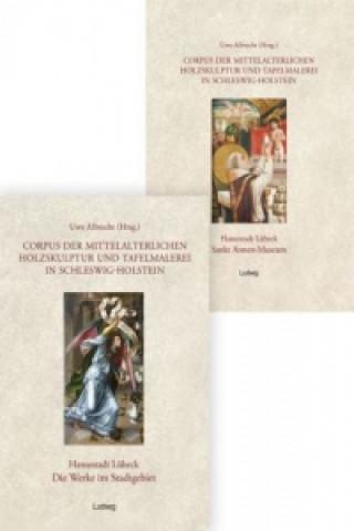 Corpus der mittelalterlichen Holzskulptur und Tafelmalerei in Schleswig-Holstein, 2 Bde.