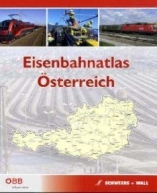 Eisenbahnatlas Österreich. Railatlas Austria